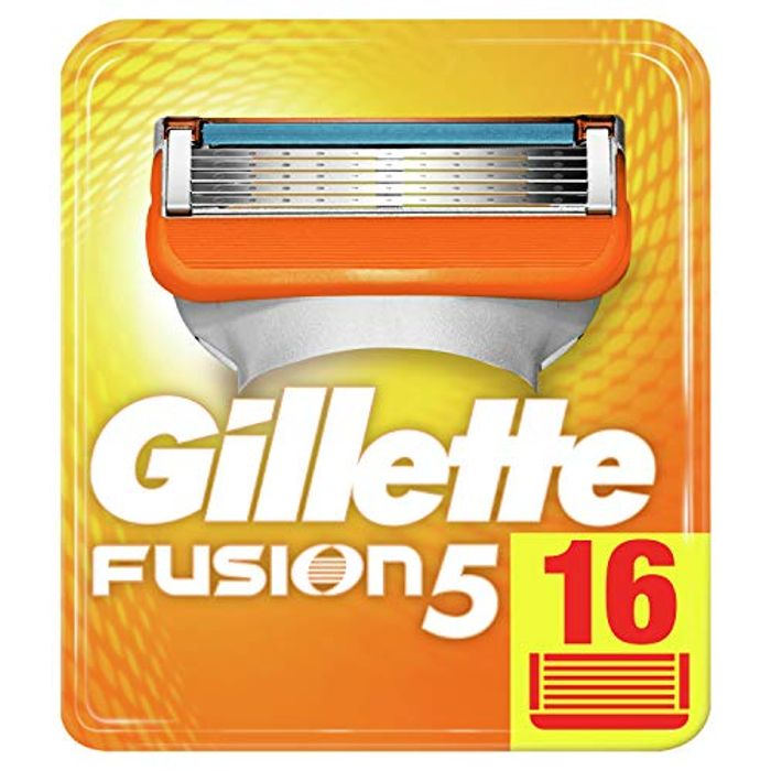 Prime Only Deal - Gillette Fusion 5 Razor Blades Pack of 16