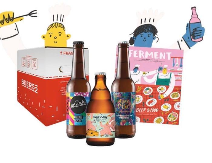 8 or 10 Bottles of Craft Beer, Snacks & Magazine Totally FREE