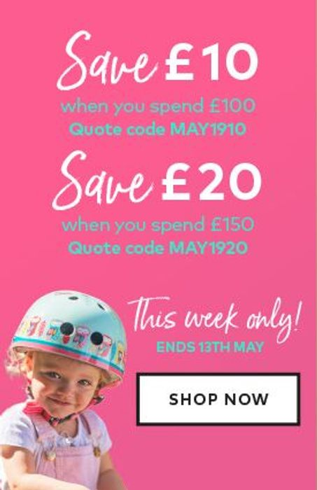 £10 off When You Spend £100