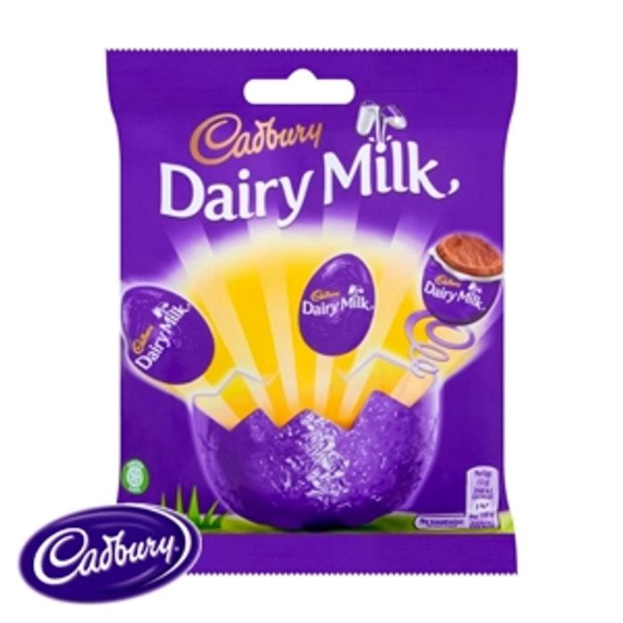 Dairy Milk Chocolate Eggs (22 X 93g Bags)