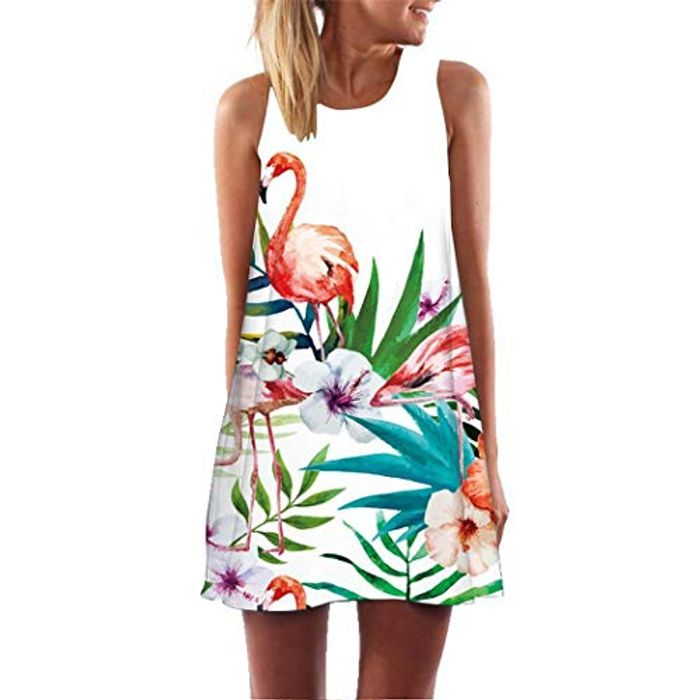 Flamingo Dress 80% off + Free Delivery