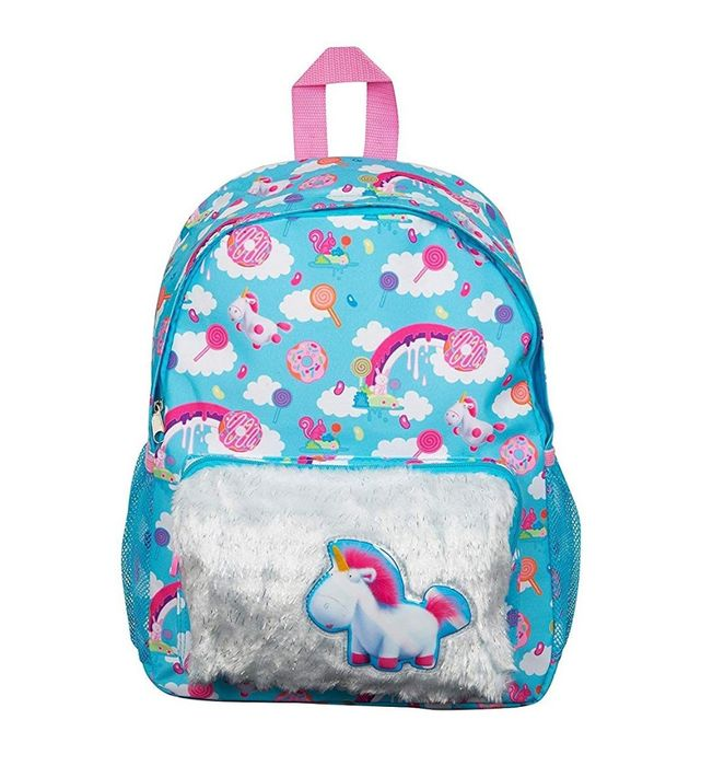 Despicable Me Fluffy Unicorn Backpack School Bag