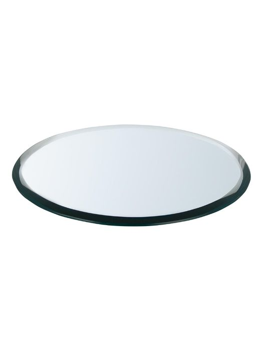 John Lewis & Partners Mirror Candle Plate, Dia.18cm