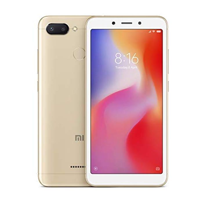 GOOD VALUE! Xiaomi Redmi 6 - Dual SIM 32GB SIM-Free Smartphone