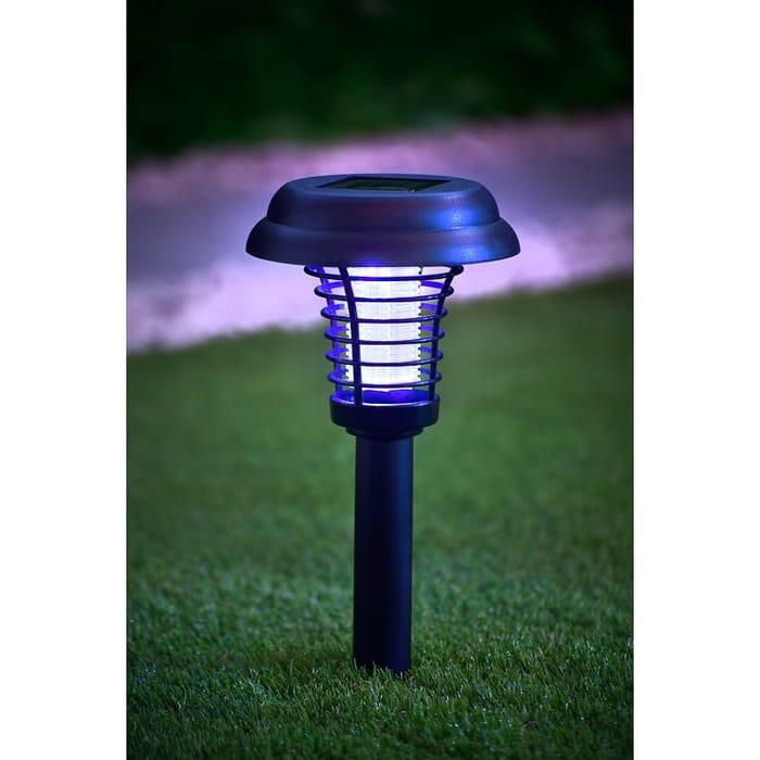 2-in-1 Garden Solar Light & Bug Zapper NOW £2.99 WAS £5.99