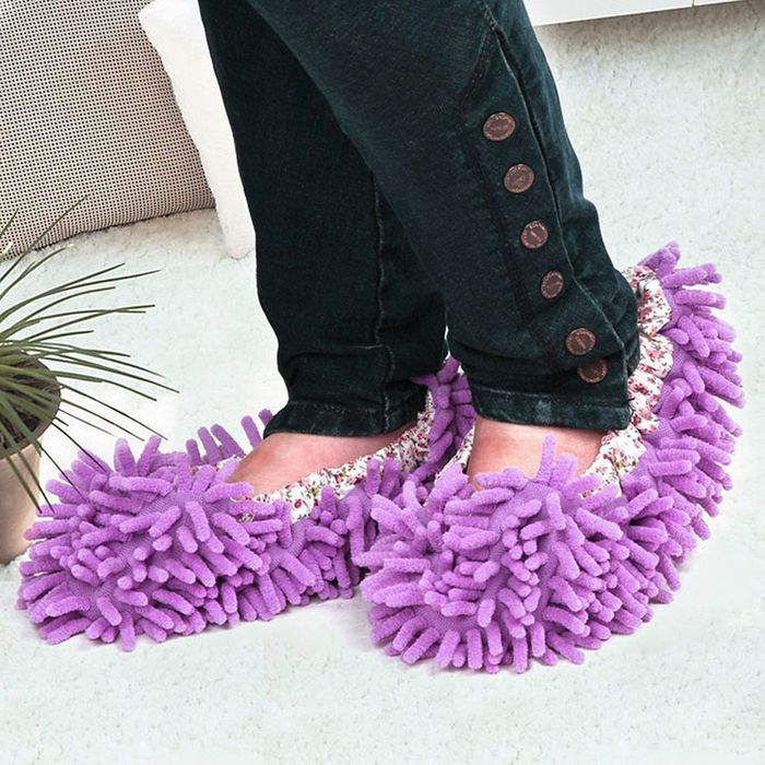Cheap Dust Mop Slippers - Free Delivery