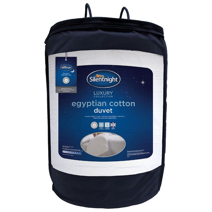 Silentnight Luxury 10.5 Tog Egyptian Cotton King Size Duvet