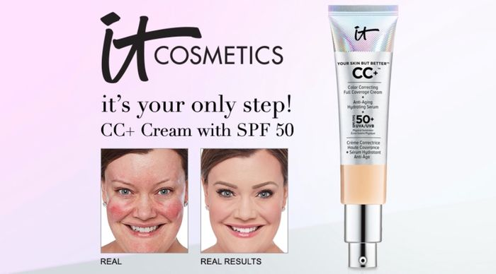 Free IT Cosmetics Your Skin but Better CC+ Cream with SPF50