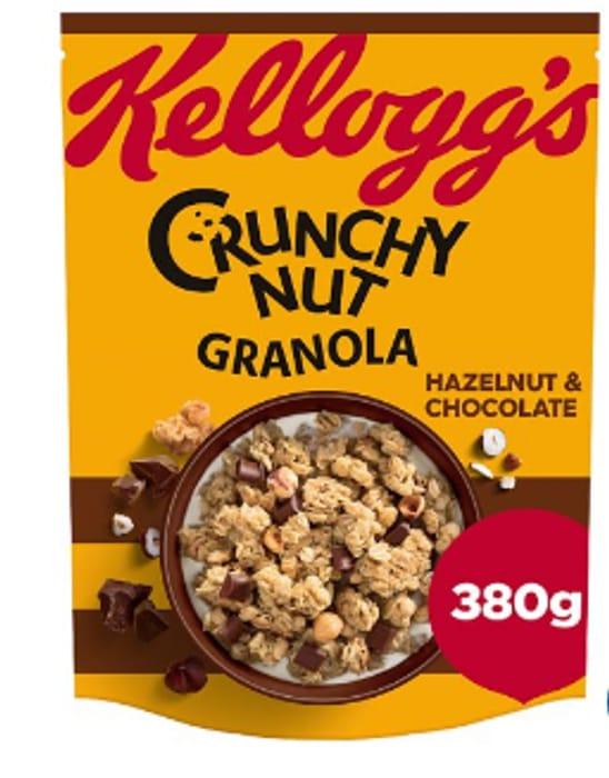 Kelloggs Crunchy Nut Granola 380G