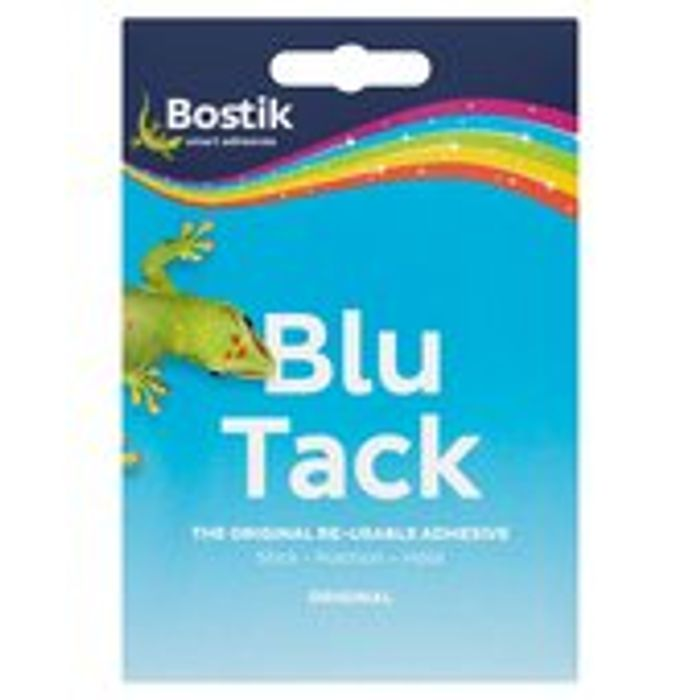 Bostik Blu Tack 60g Down From £1 to £0.75