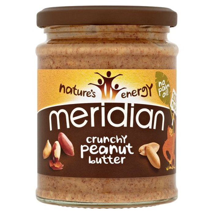 Meridian Peanut Butter Crunchy or Smooth 100% Nuts 280G