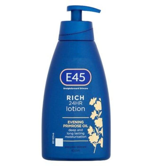 E45 Skincare Rich 24HR Lotion - 400ml