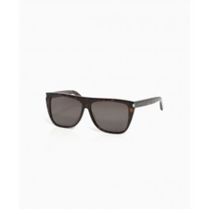 Stella McCartney - Saint Laurent Large Wayfarers - Old Brown