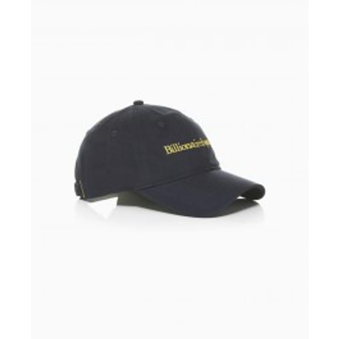 Billionaire Boys Club - Embroidered Logo Cap - Navy