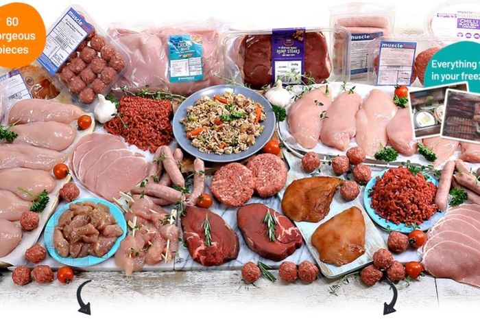 Muscle Foods Hamper for £59 + 2 More for £1 Each!