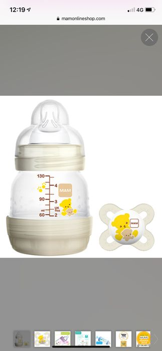 MAM Bottle and Soother