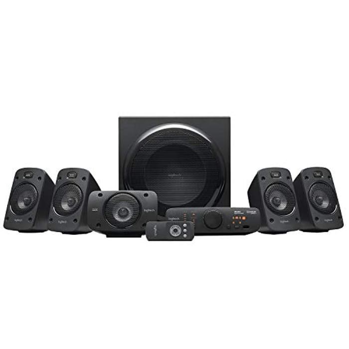 Logitech Z906 Stereo Speakers 3D 5.1 Dolby Surround Sound