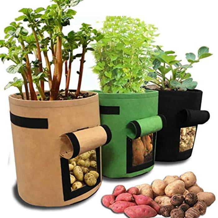 Fabric Vegetable Planter Bag