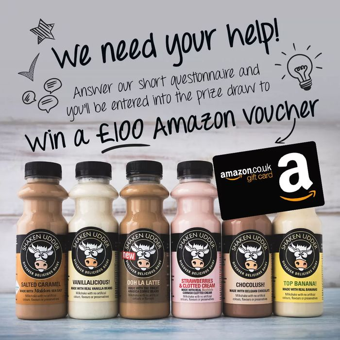 Win £100 Amazon Voucher and Milkshake Bundle