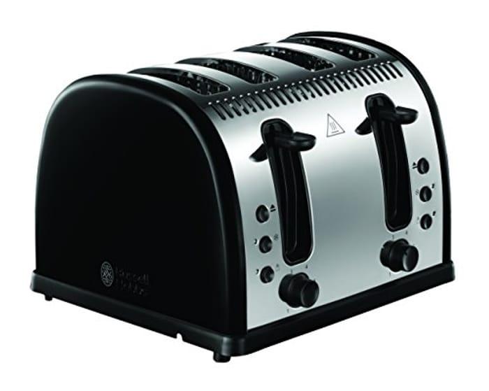 Russell Hobbs Legacy 4-Slice Toaster - Black