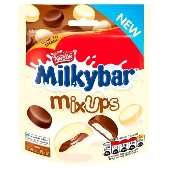 Nestle Milkybar Mix Ups Pouch 95g - Save £0.50