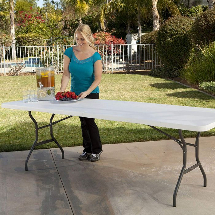 Deal of the Day: 8-Foot Fold-in-Half Table for 8-10 People