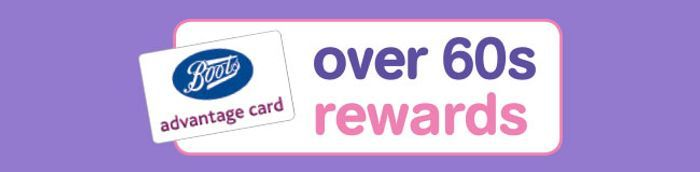 Over 60s Rewards at Boots