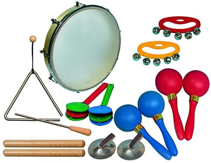 Shake Shake! Kids Percussion Instrument Set (Goldon)