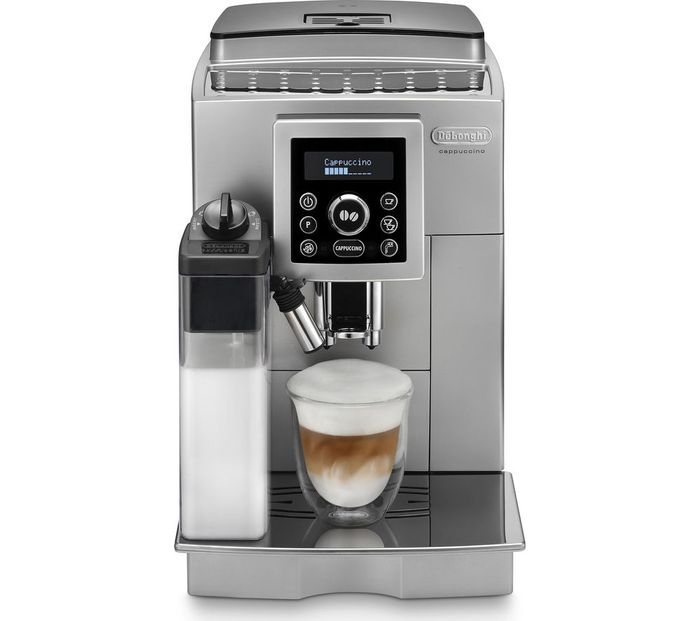 DELONGHI ECAM23.460 Bean to Cup Coffee Machine-Silver & Black Only £349