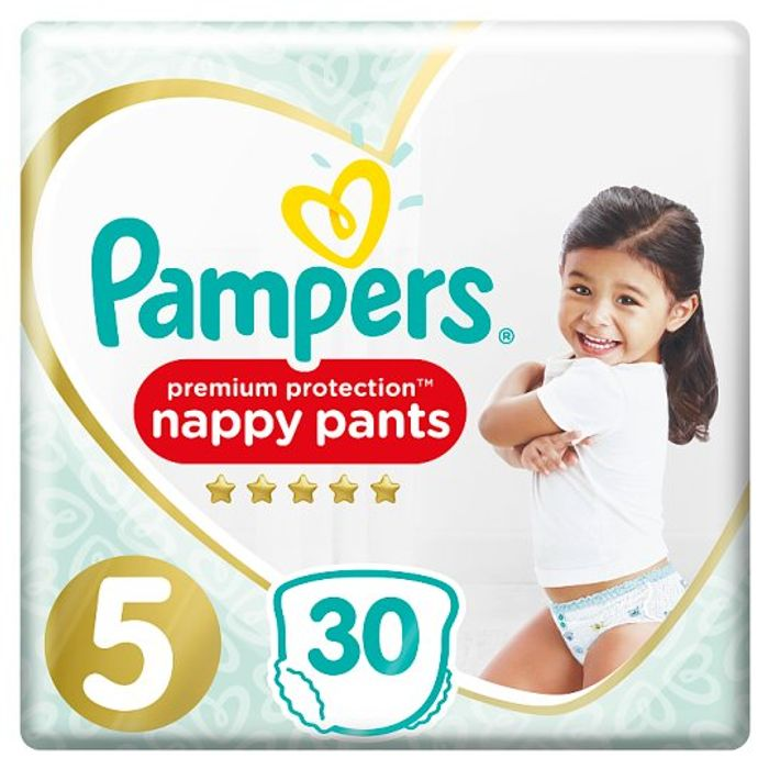Pampers Active Fit Pants Size 5 Essential Pack 30 - 53% Off