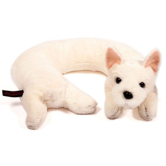 Terrier Dog Neck Buddy Cuddly Travel Pillow
