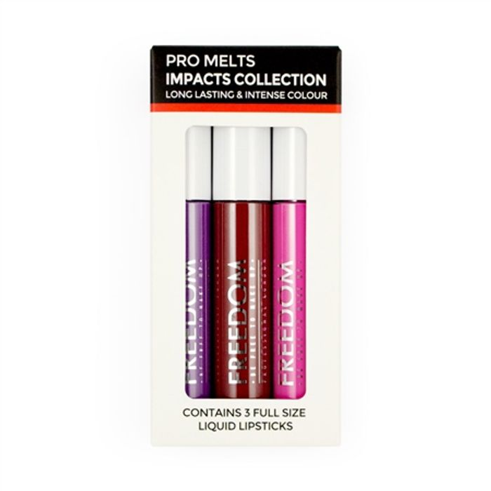 Freedom Makeup London Pro Melts Impacts Collection