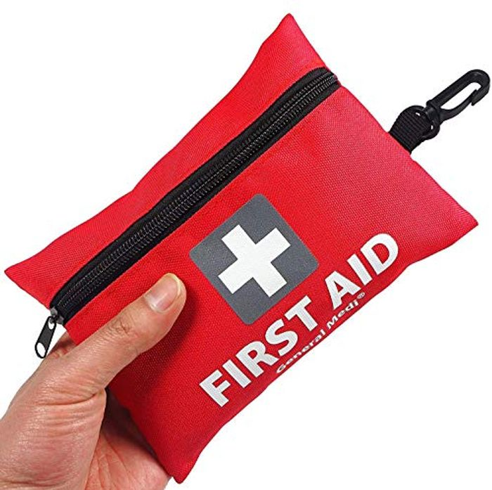 Mini First Aid Kit,92 Pieces Small First Aid Kit