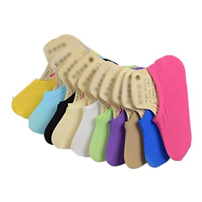 Multicoloured Socks 10 Pairs