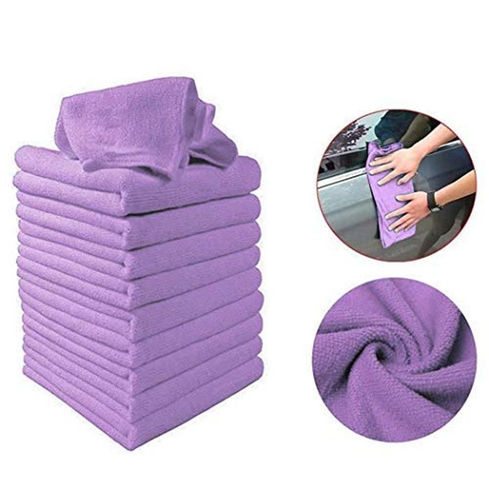 Microfibre Cloths 10pcs
