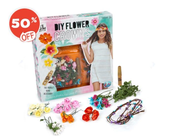 GL Style DIY Flower Crowns Kit