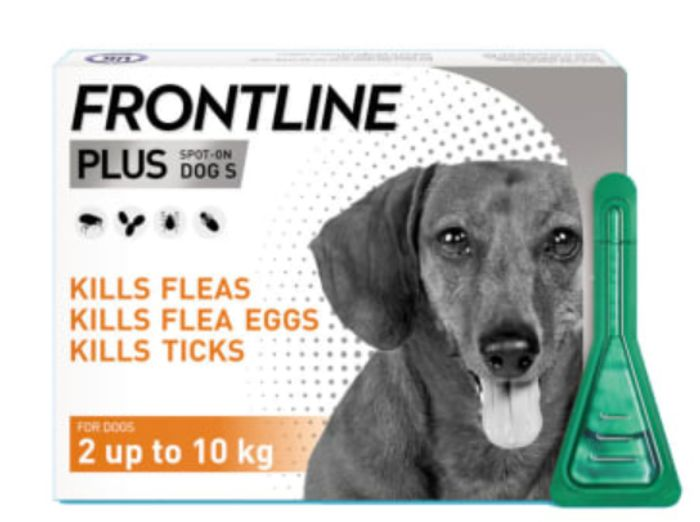 Frontline plus Spot-on for Small Dogs