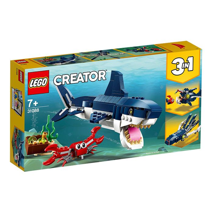 SAVE £3 - LEGO Creator 3-in-1 Deep Sea Creatures (31088)