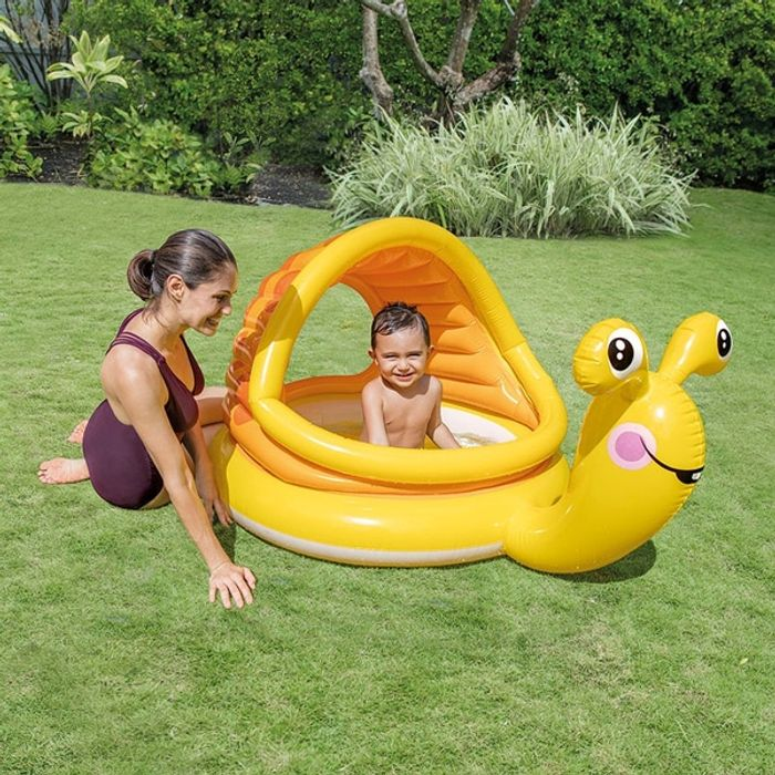 Intex Lazy Snail Shade Baby Pool Only £9.99