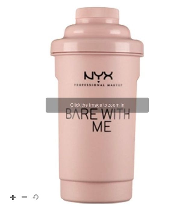 Free Water Bottle When You Spend £16 on Selected NYX Professional Makeup