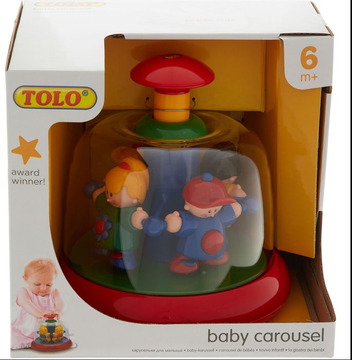 Colourful First Friends Carousel