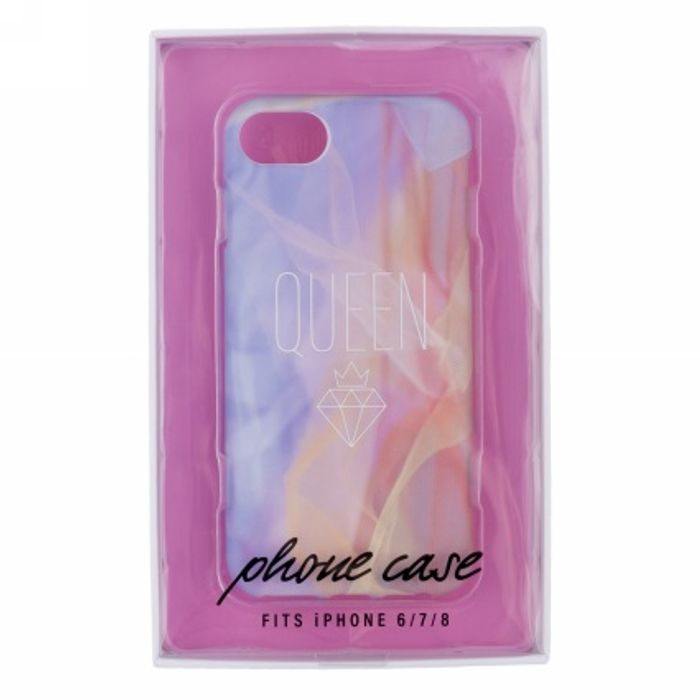 WHSmith Sassy Watercolour Queen iPhone Case