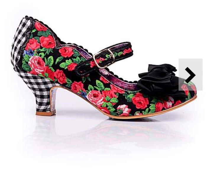 Irregular Choice Mary Jane Court Shoes