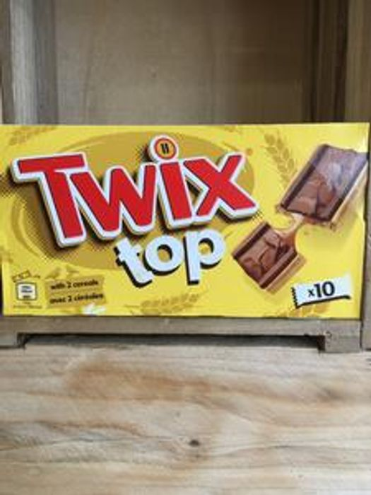 Twix Top 10x 21g Cereal Bars Only 70p at Low Price Foods