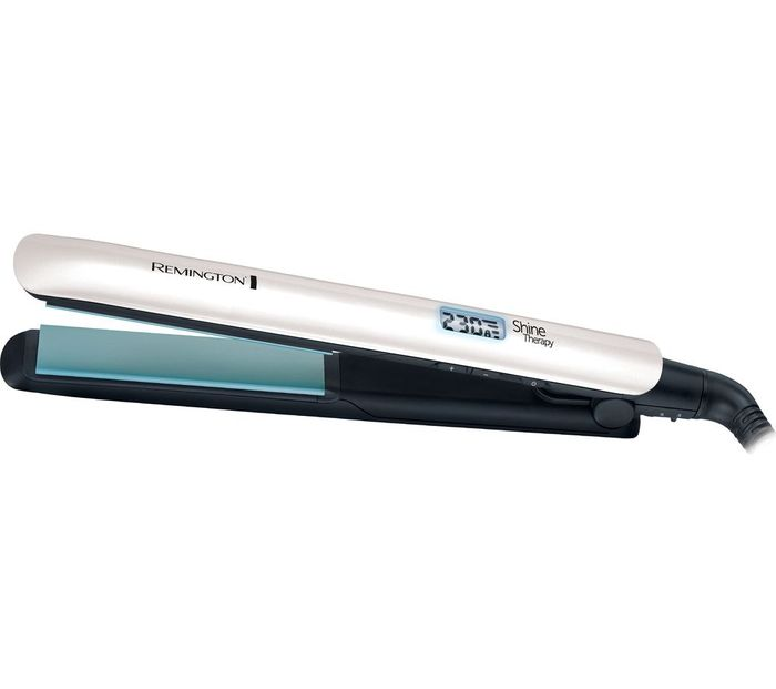 REMINGTON S8500 Morrocan Oil Shine Therapy Hair Straightener - Blue & Black