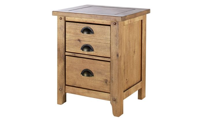 Wild Coast 2 Drawer Bedside Table £30 Off