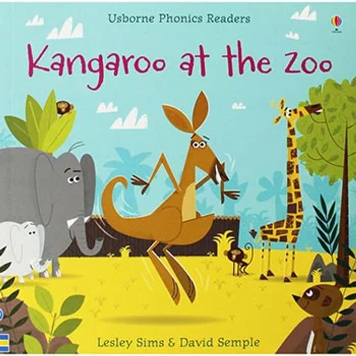 Kangaroo at the Zoo - Usborne Phonics Readers