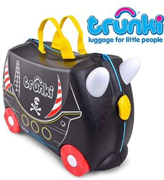 SAVE £8 - Trunki Childrens Suitcase - Pedro the Pirate Ship ***4.7 STARS***