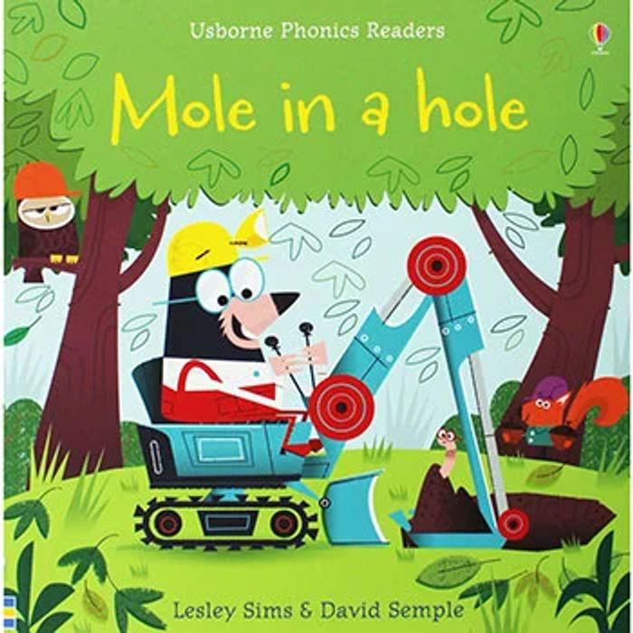 Mole in a Hole - Usborne Phonics Readers