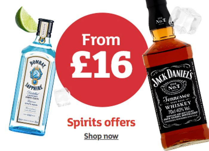 Spirits Offer at Sainsbury's